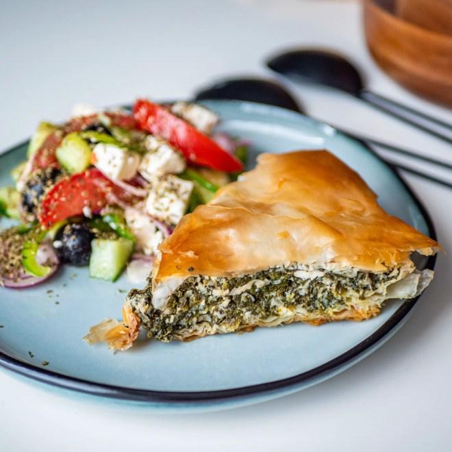 Horiatiki - Salade grecque - Recette