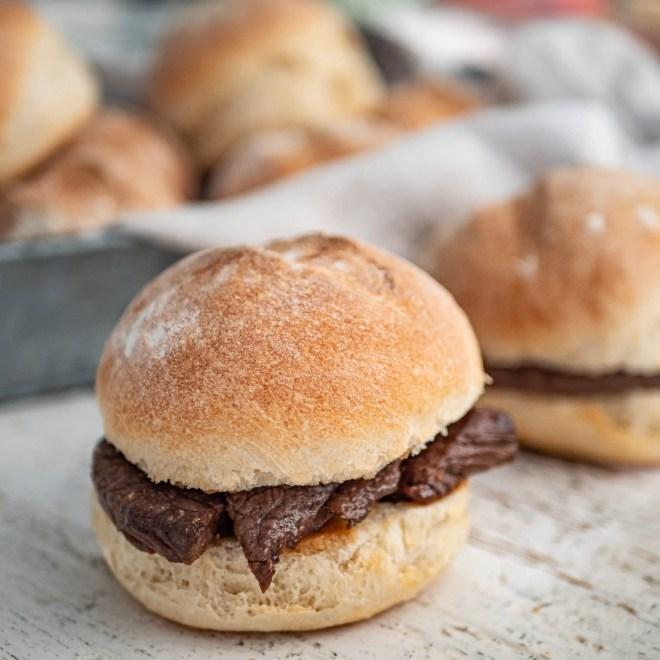 Prego roll - Sandwich mozambicains - Recette