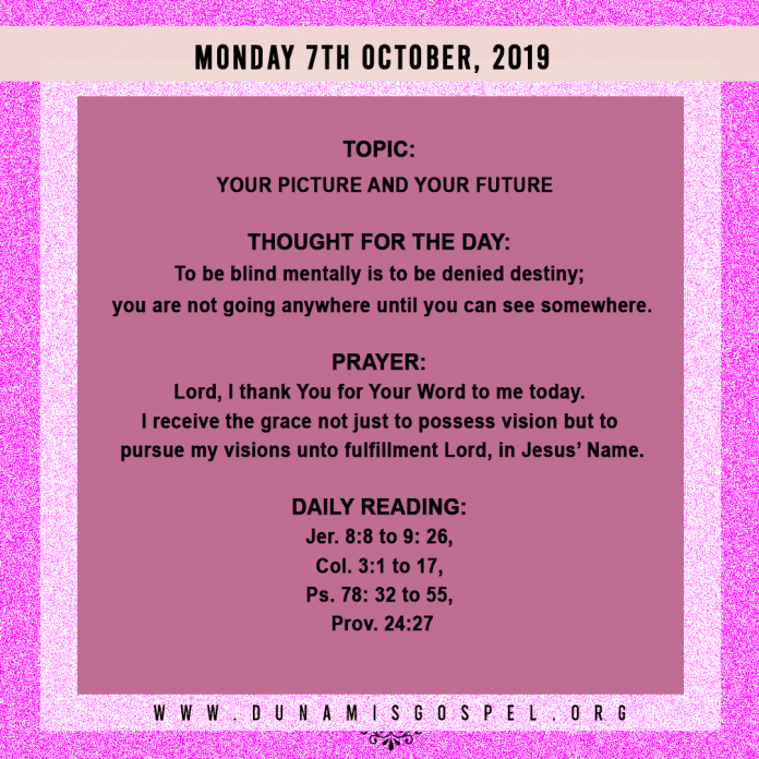 Seeds of Destiny 7th October 2019, Seeds of Destiny 7th October 2019 – Your Picture And Your Future