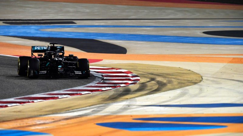 Hamilton vence o GP do Bahrein