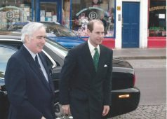 Visit of HRH the Earl of Wessex