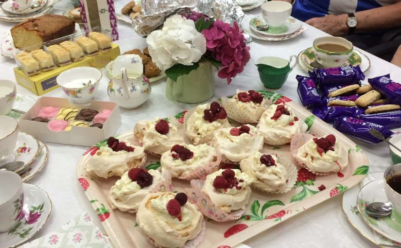 "Macmillan Fundraising Tea Party <span class=""dashicons dashicons-calendar""></span>"