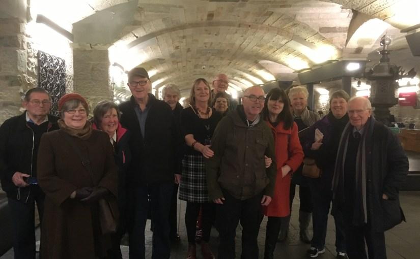 Outing to NMS, Edinburgh – January 2019