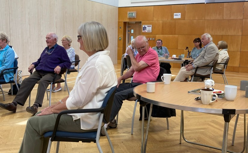 Cautious Return to Face to Face Weekly Carers Group Meetings