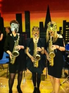 Sax trio