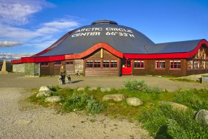 Arctic Circle Centre on E6 (660m altitude), Norland County, Norway