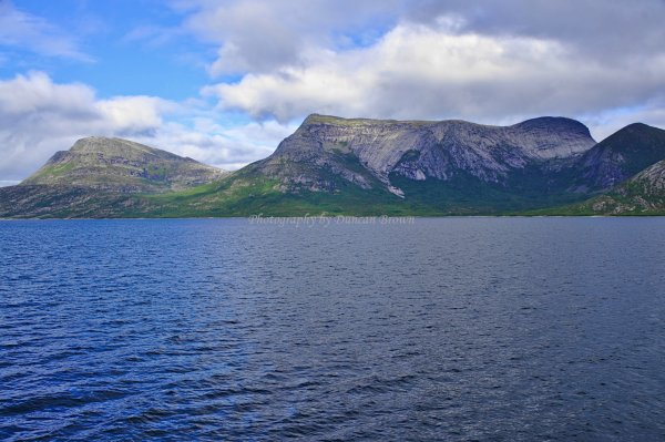 Ferry between Skarberget and Bognes, Norland County, Norway