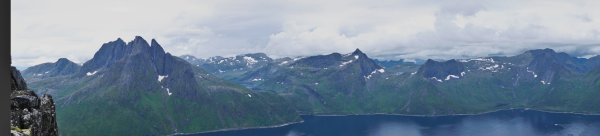 From Barden (659m), Island of Senja, Troms og Finnmark, Norway - ...behind every picture, there is a story...