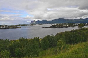 Hamn and Bergsfjorden, Senja Island, Troms og Finnmark, Norway - ...behind every picture, there is a story...