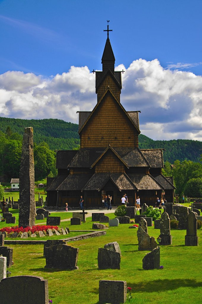 Heddal Stave church, Vestfold og Telemark, Norway. - ...behind every picture, there is a story...