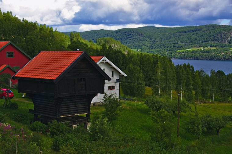 Heddalsvatnet, Notodden Municipality, Vestfold og Telemark, Norway - ...behind every picture, there is a story...