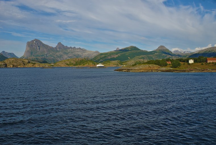 Hills over Jektvik, Rodoy, Nordland County, Norway - ...behind every picture, there is a story...