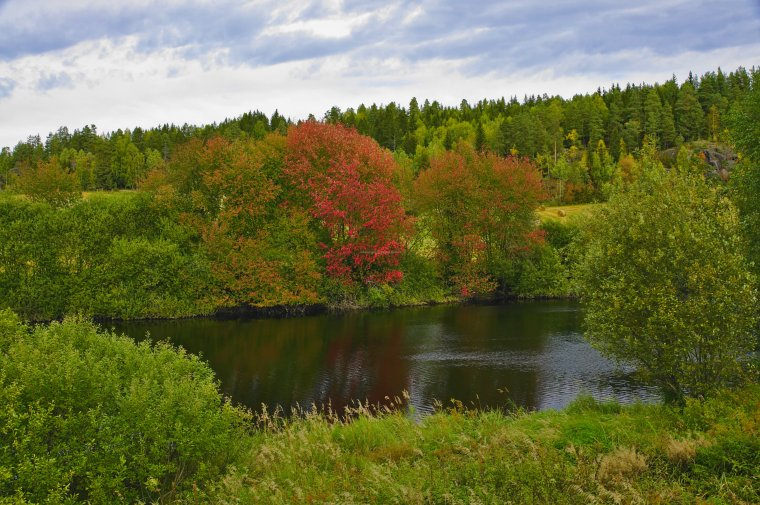 Linderudveien, between Solumsmoen and Amot, Viken County, Norway - ...behind every picture, there is a story...