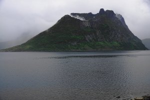 Oyfjorden and Keipan (660m), Island of Senja, Troms og Finnmark, Norway - ...behind every picture, there is a story...