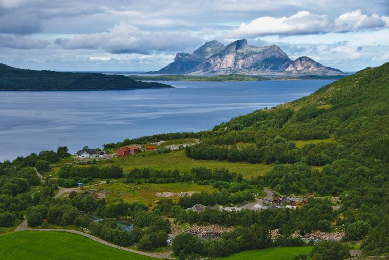 Sorfjorden and the Island of Fugløya, Nordland, Norway - ...behind every picture, there is a story...