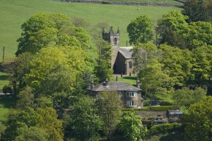Christ Church Lothersdale, Craven, North Yorkshire, England