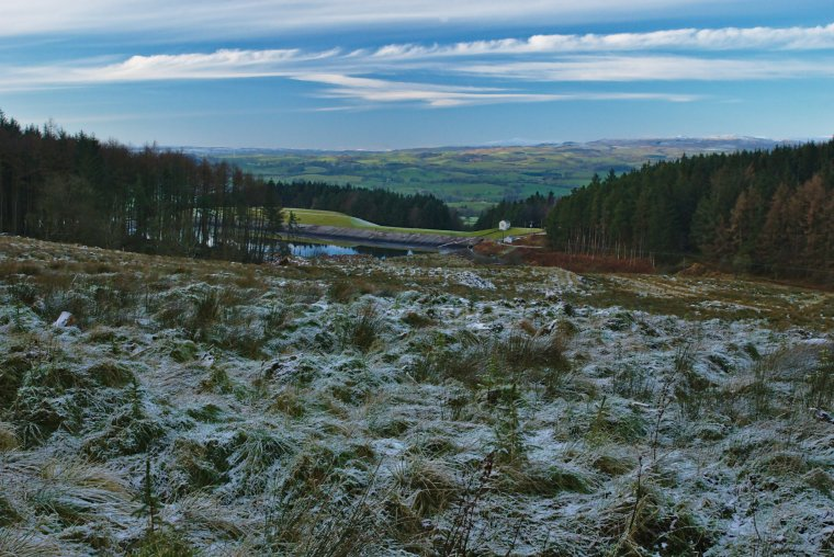 Elslack Reservoir, Craven, North Yorkshire, England - ...behind every picture, there is a story...