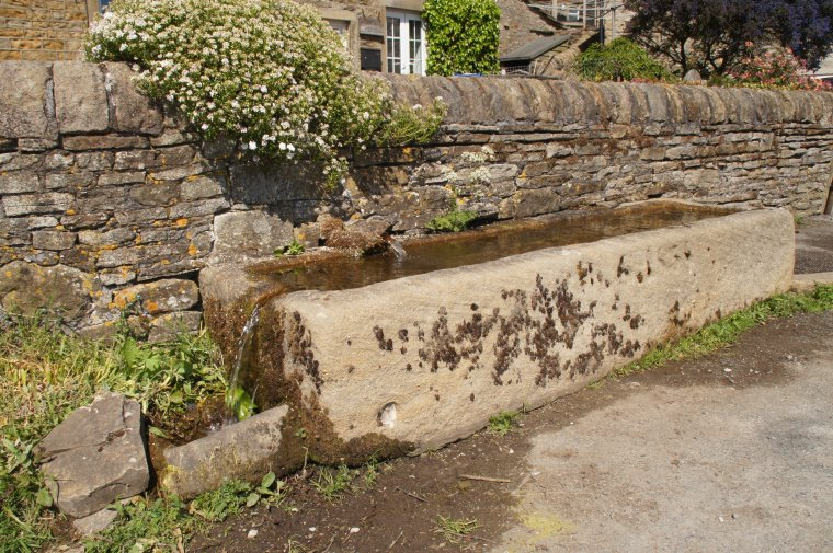 Horse Trough, The Fold, Lothersdale, Craven, North Yorkshire, England - ...behind every picture, there is a story...
