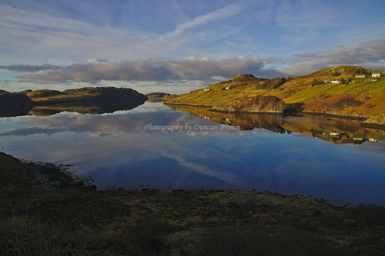 Loch Inchard, Sutherland North West Scotland - ...behind every picture, there is a story...