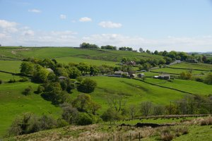 Lothersdale, Craven, North Yorkshire, England (including Christ Church)