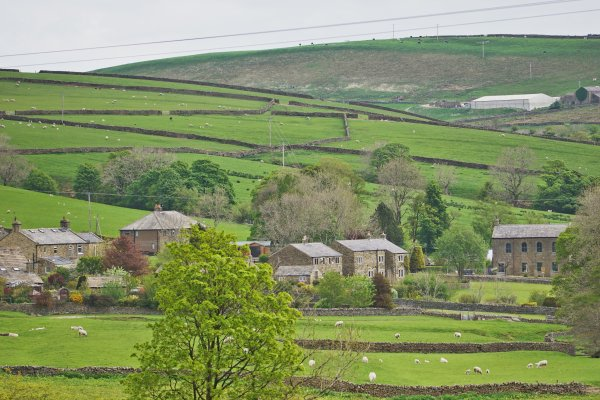 The Fold and Bethel Chapel, Lothersdale, Craven, North Yorkshire, England