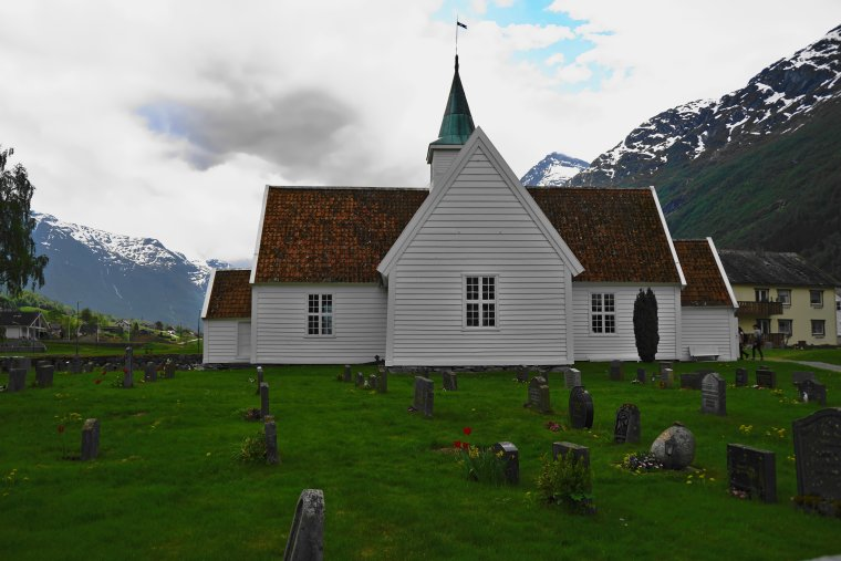 Old Church, Olden, Vestland County, Norway - ...behind every picture, there is a story...