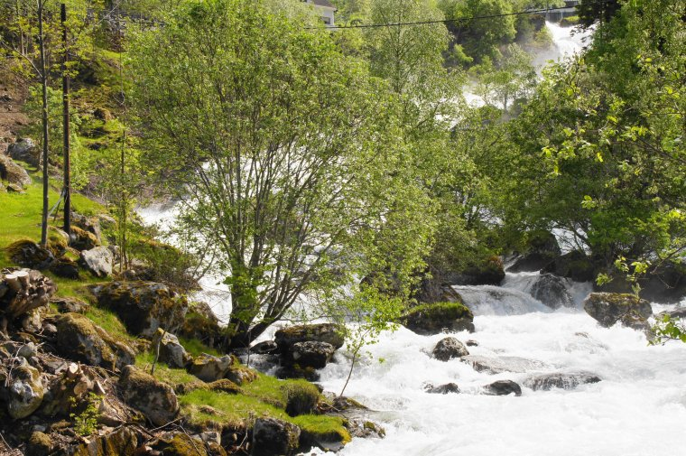 River Geirangelva at Geiranger, Møre og Romsdal, Norway - ...behind every picture, there is a story...