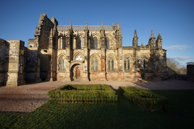 Rosslyn Chapel, Roslin, Midlothian, Scotland - ...behind every picture, there is a story...