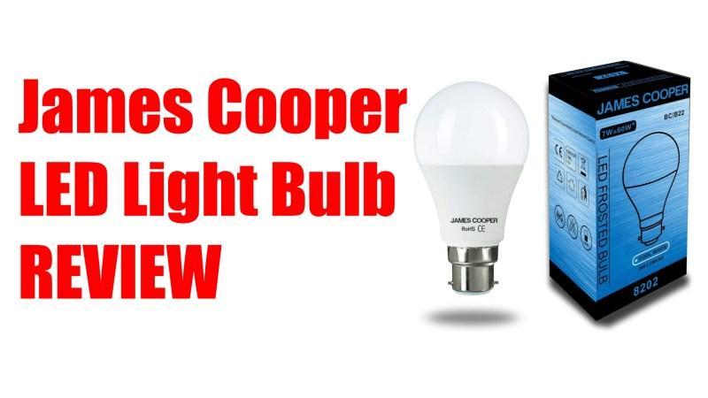 James Cooper LED Light Bulb [REVIEW]