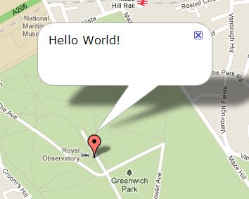 Google Maps API - infowindows (2/3)