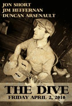 Jon Short - April 2, 2010 The Dive Bar