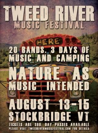 Tweed River Music Festival Ad