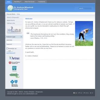 Wheelock Chiropractic Website