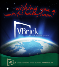 VBrick Holiday Email