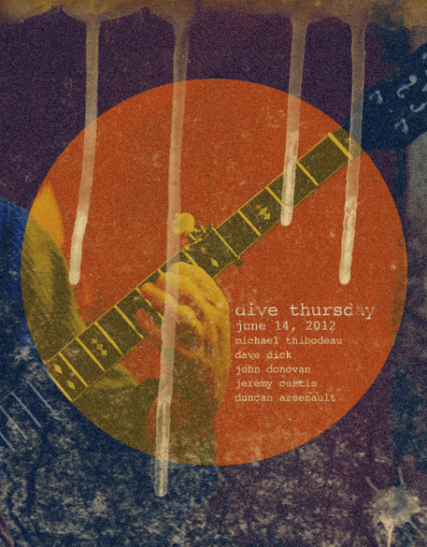 The Dive Bar June 14, 2012 poster
