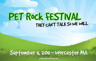 Pet Rock Festival Logo