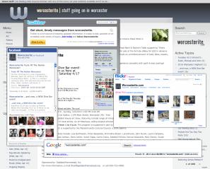 Worcesterite.com Web and Social Media Design