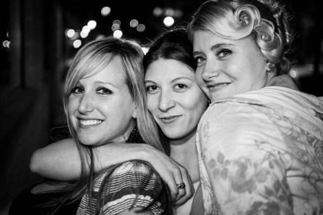Sara, Bobbi and Annie