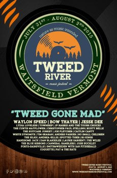 Tweed River Music Festival 2015 Poster