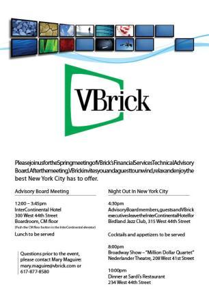 VBrick Invite
