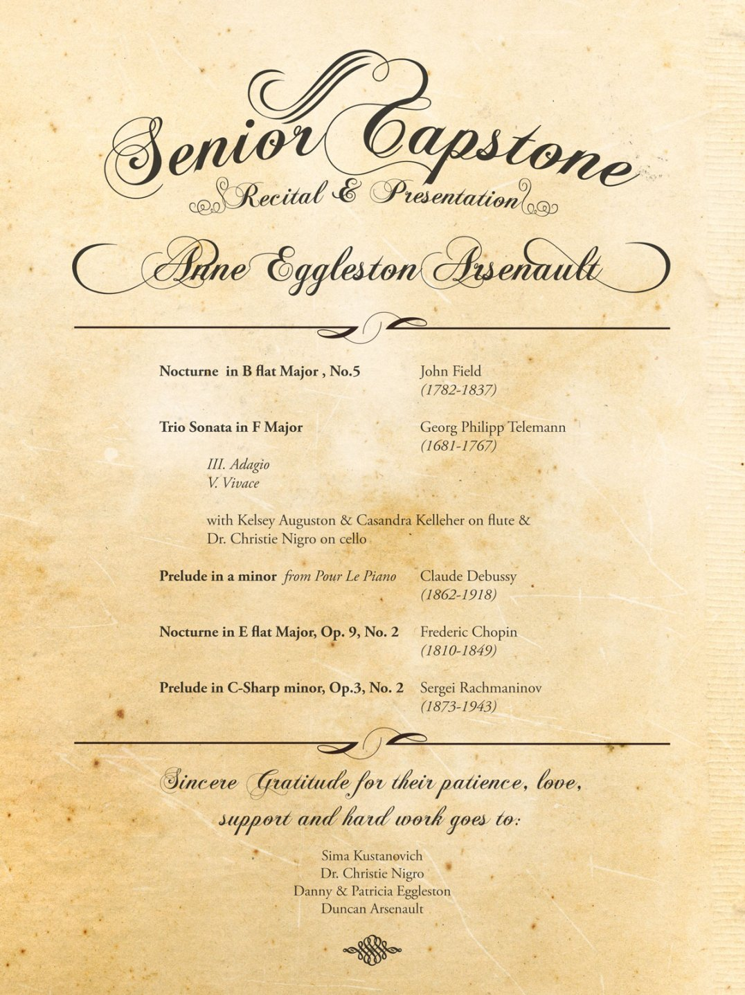 Annie Senior Capstone Program