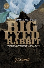 Big Eyed Rabbit poster