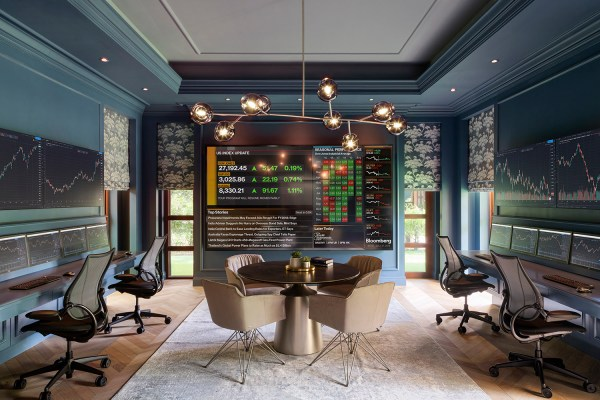 Interior photograph of a private office for Eclectic Designs by photographer Duncan Chard