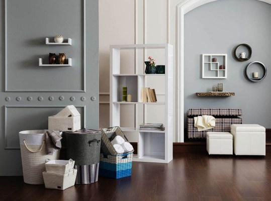 A photograph showing a selection of interior products for Homecentre, Dubai