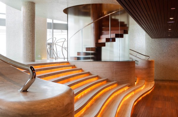 Interior Photography of the pool area in the Burj Khalifa, Dubai