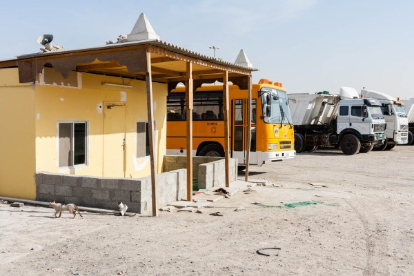 Truck Stop, image from the project Portamosque by Duncan Chard