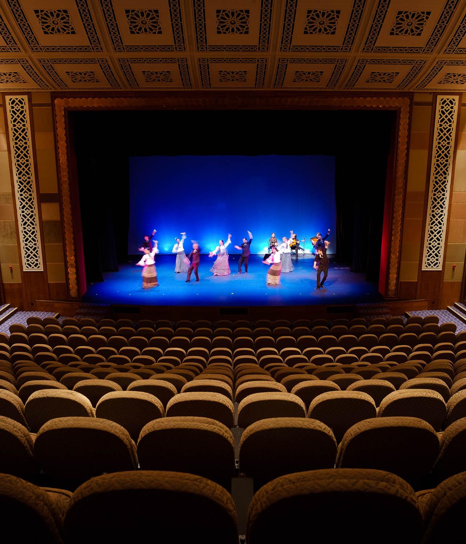 Interior Photograph of the Madinat Theatre in the Madinat Souk, Dubai