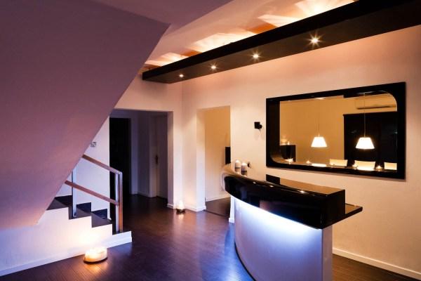 Interior design of a villa in Abu Dhabi