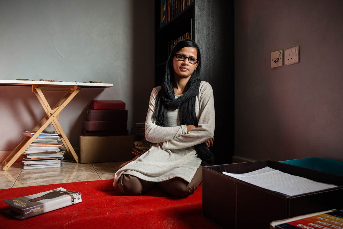 Shemi, Indian author of 'Nadavazhiyile Nerukal' (The truth in my path)