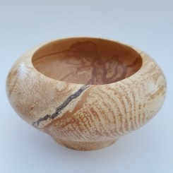 bowl with repaired crack